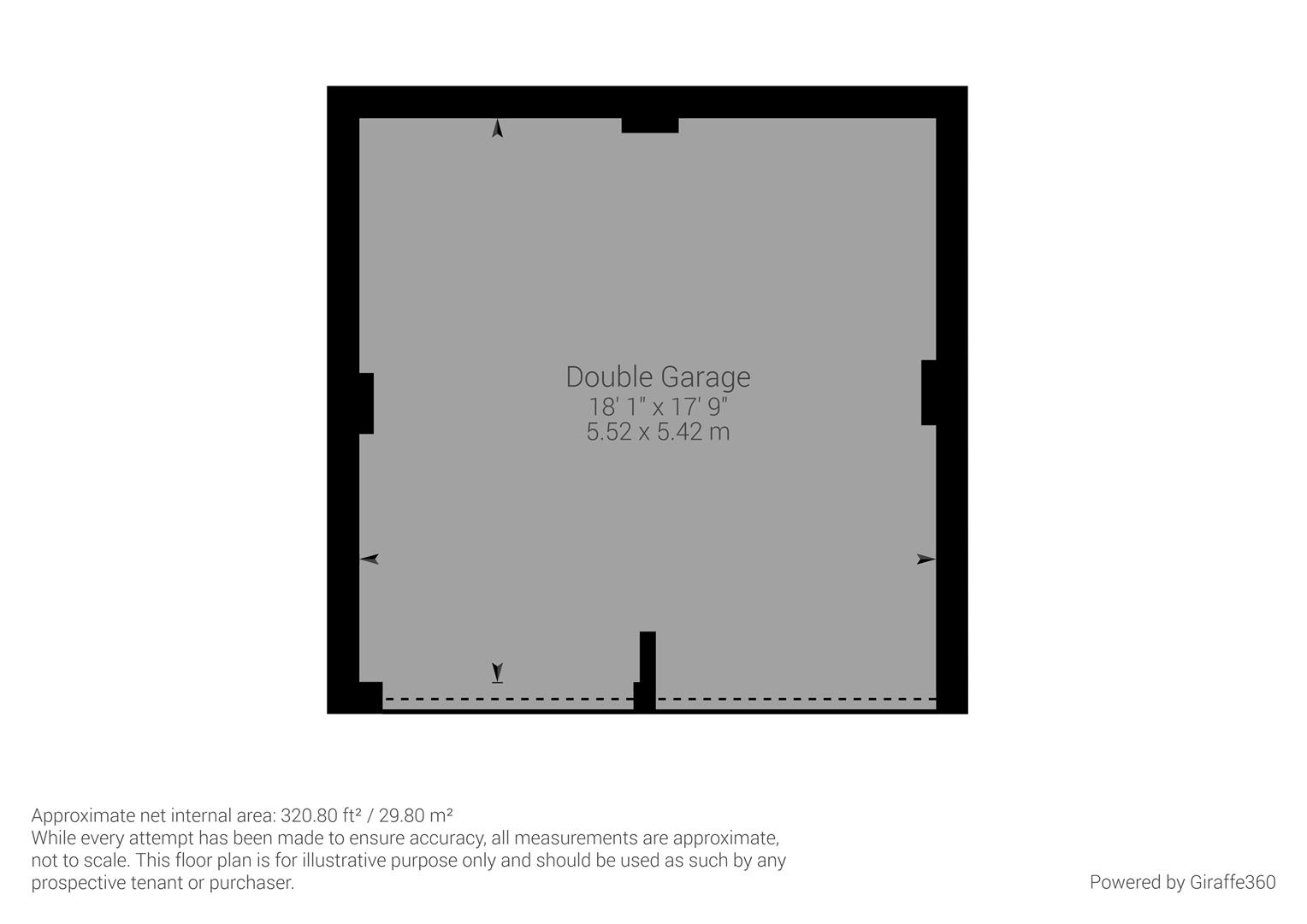 Floor Plan Garage